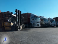 Pallets Bertini Group - gli automezzi